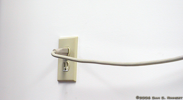 Mundane Monday: Electrical Outlet