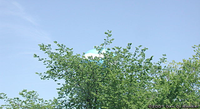 Water Tower (Obscured), Ann Arbor, Michigan