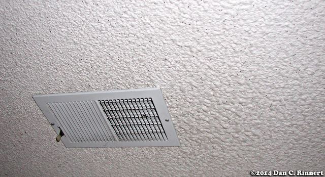 Mundane Monday: Ceiling Vents
